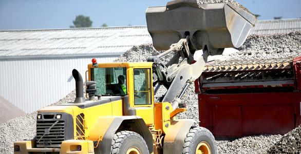 Livraison de sable - livraison de gravier - livraison de terre - livraison de pierre
